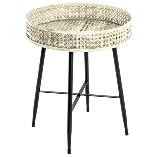 Sconto Přístavný stolek TABAGO ø 45 cm - nábytek SCONTOnábytek.cz