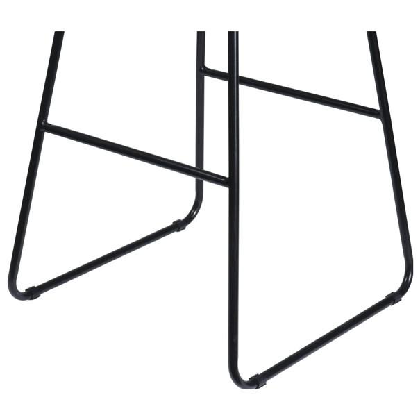 Barová židle TANGO přírodní/černá 2