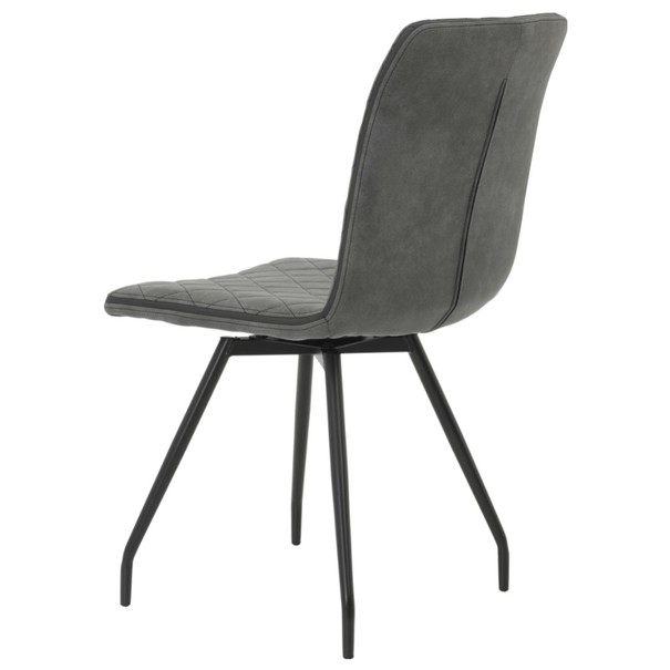 Jídelní židle TATJANA I S antracitová 7