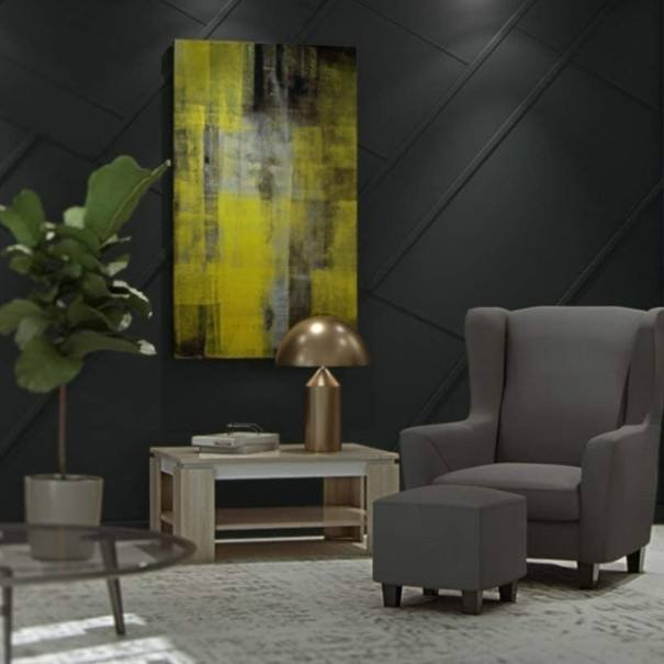 Konferenční stolek TIM II dub sonoma/bílá 2