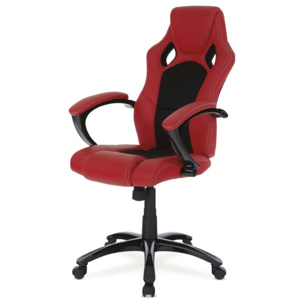 Kancelářská židle TIMO červená/černá 1