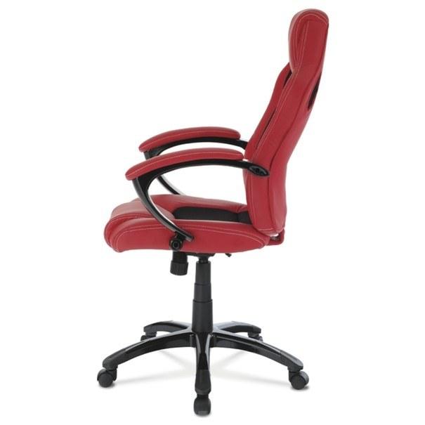 Kancelářská židle TIMO červená/černá 3