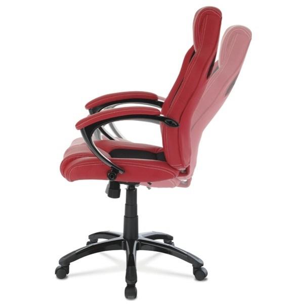 Kancelářská židle TIMO červená/černá 6