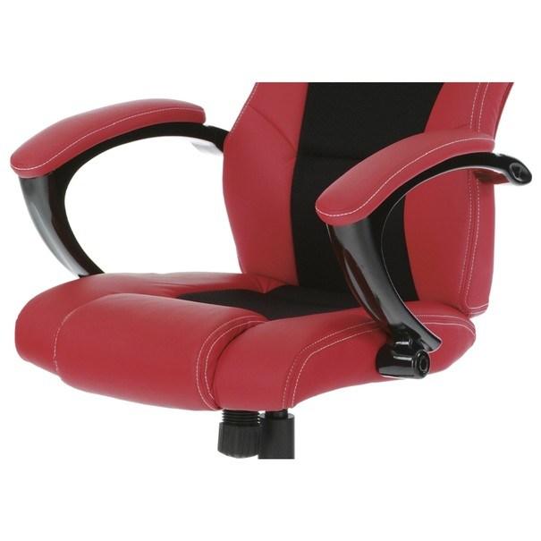 Kancelářská židle TIMO červená/černá 10
