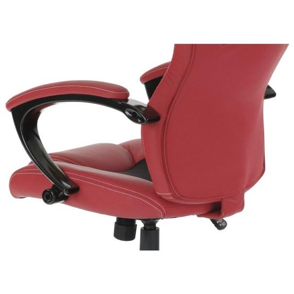 Kancelářská židle TIMO červená/černá 11