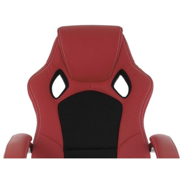Kancelářská židle TIMO červená/černá 12