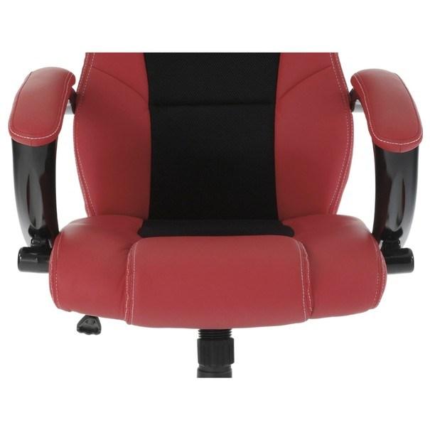 Kancelářská židle TIMO červená/černá 13