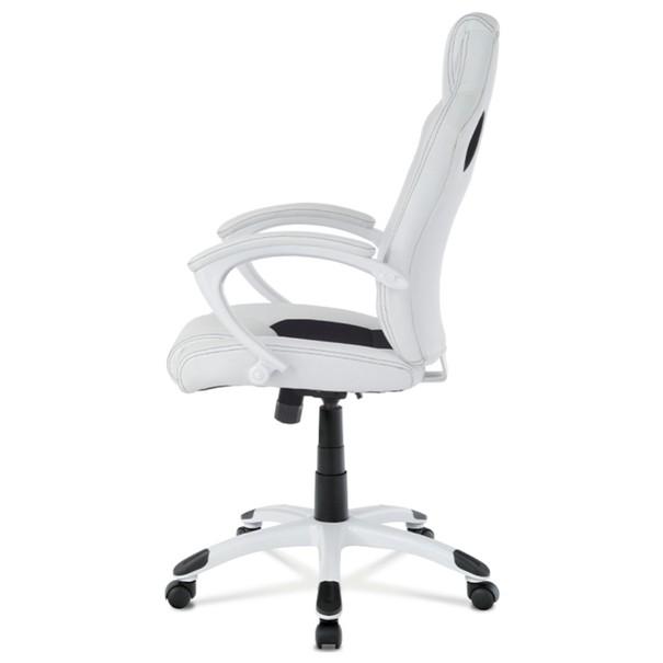 Kancelářská židle TIMO bílá/černá 3