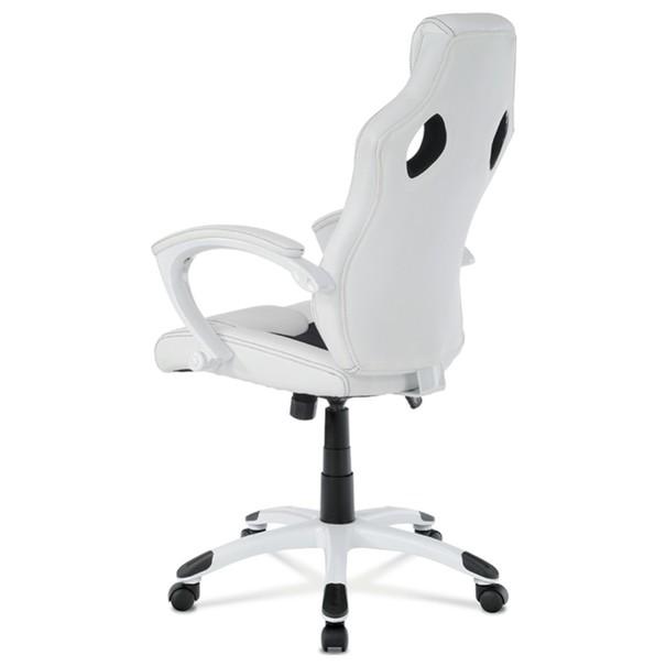 Kancelářská židle TIMO bílá/černá 4