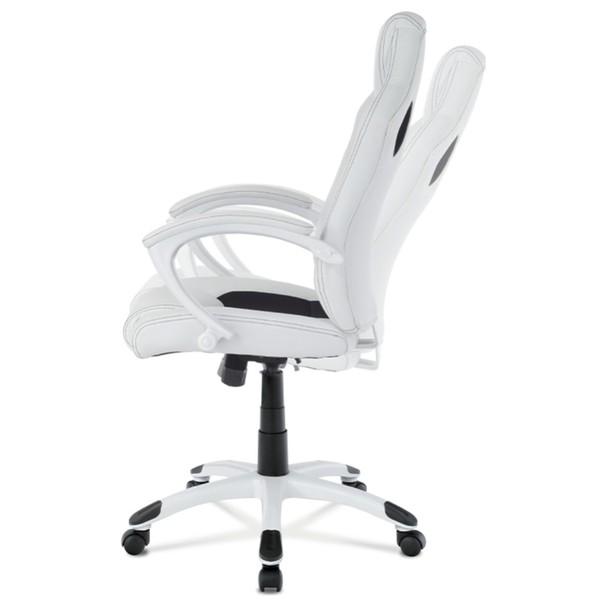 Kancelářská židle TIMO bílá/černá 6