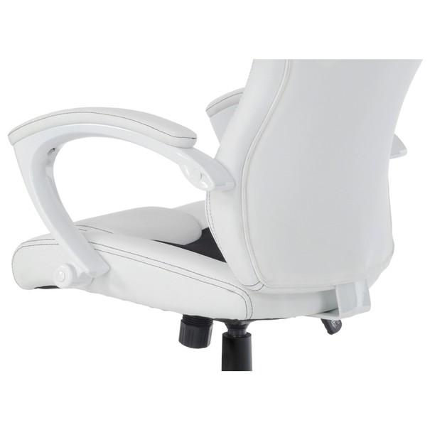 Kancelářská židle TIMO bílá/černá 13