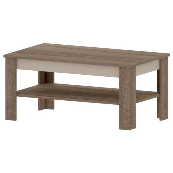 Konferenční stolek  TORINO TK6 dub truffel/šampaň 1