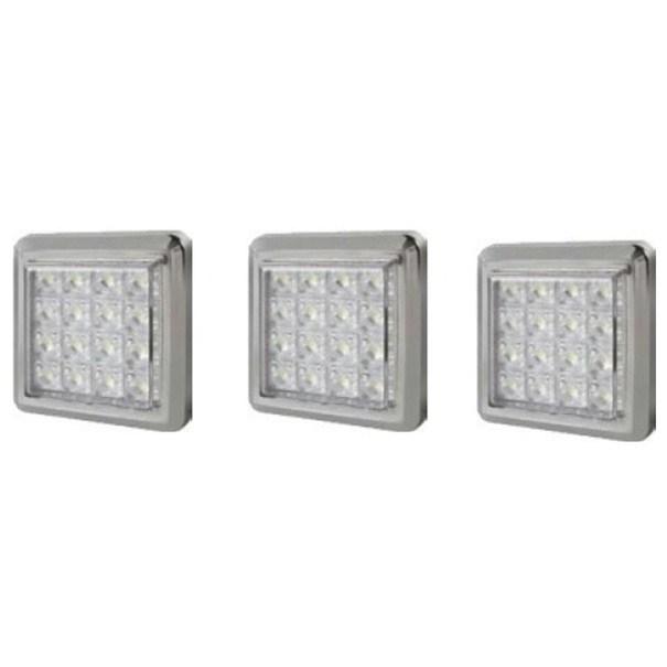 LED osvětlení pro obývací stěnu TORINO bílá 1