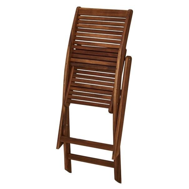 Zahradní židle  TOULON akácie 2