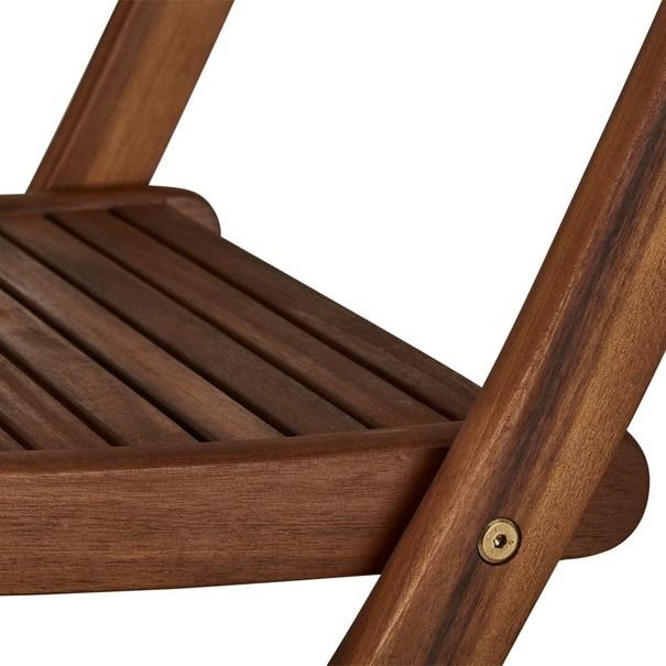 Zahradní židle  TOULON akácie 8