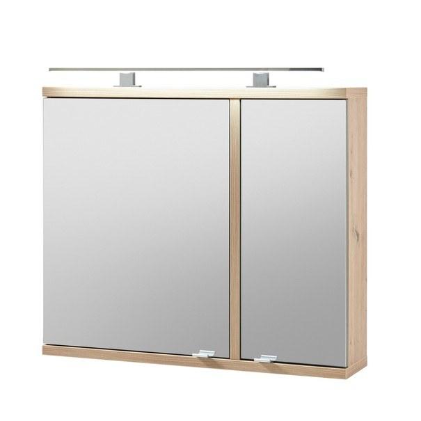 Sconto Zrcadlová skříňka TROJA dub artisan