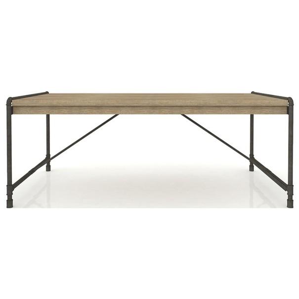 Jídelní stůl TUBE akácie/hnědá 1