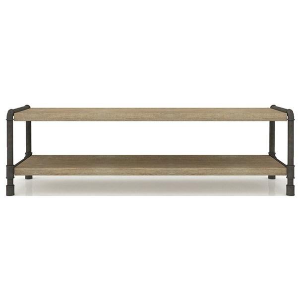 TV stolek TUBE akácie/hnědá 1