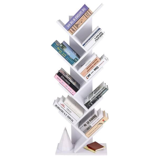 Knihovna UDDE bílá 3