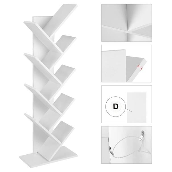 Knihovna UDDE bílá 4