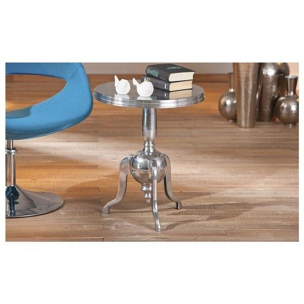 Přístavný stolek UNIQUE hliník 3