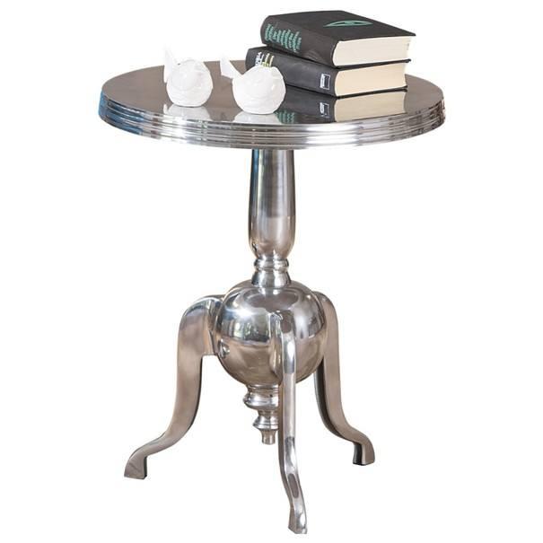 Přístavný stolek UNIQUE hliník 4