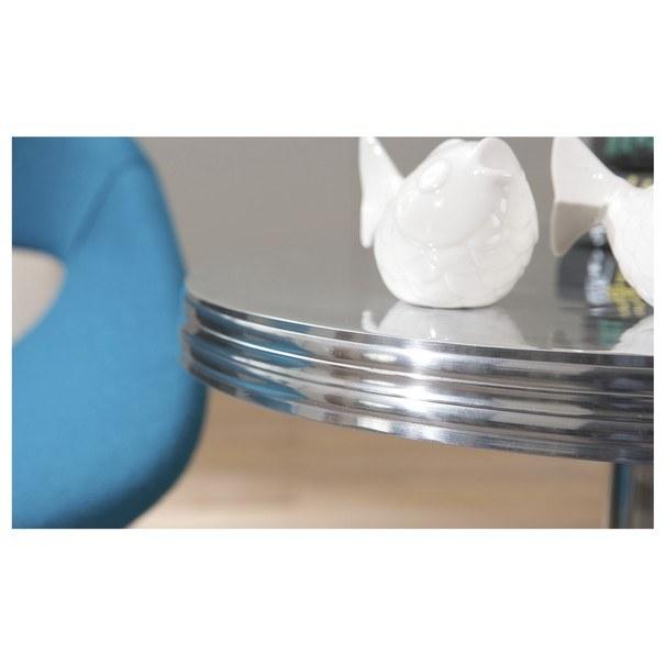 Přístavný stolek UNIQUE hliník 6