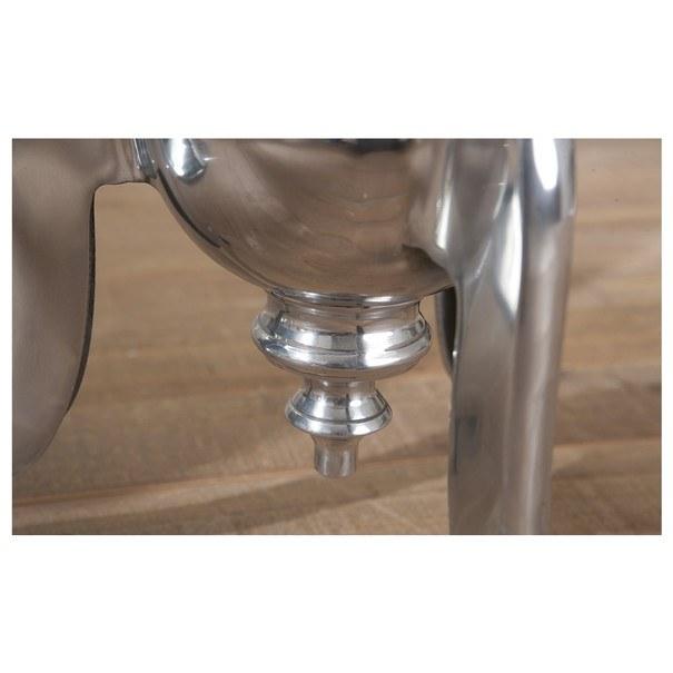 Přístavný stolek UNIQUE hliník 9