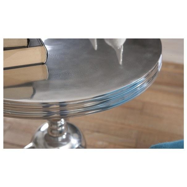 Přístavný stolek UNIQUE hliník 12