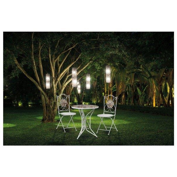 Zahradní židle US1001 bílá/mozaika 2