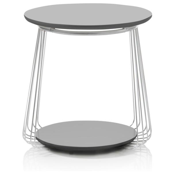 Přístavný stolek VENUTO černá, 50 cm 3