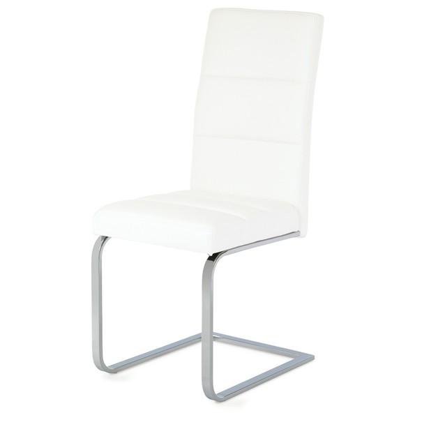 Jedálenská stolička VIENNA 1 biela 1