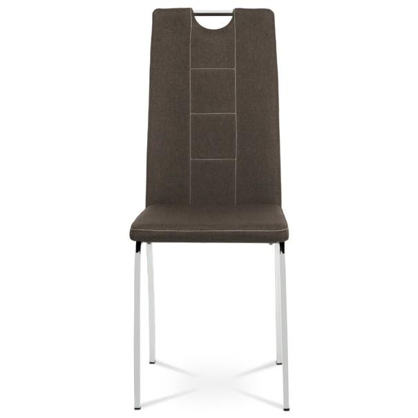 Jedálenská stolička VILMA hnedá 2