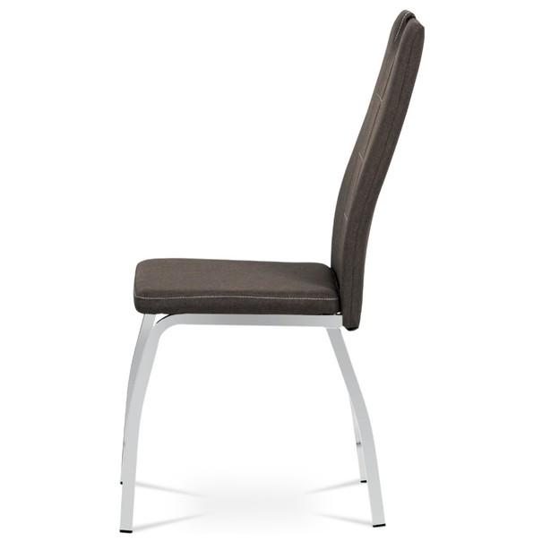 Jedálenská stolička VILMA hnedá 4