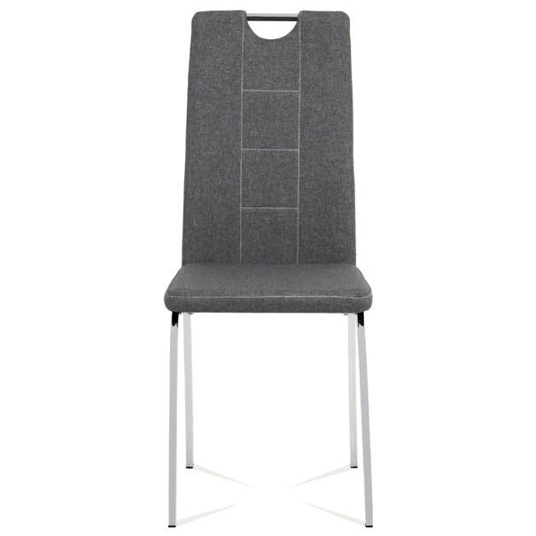 Jídelní židle VILMA šedá 2