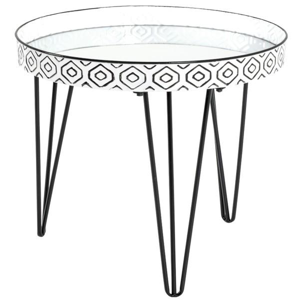 Sconto Přístavný stolek VITAGO ø 65 cm - nábytek SCONTOnábytek.cz