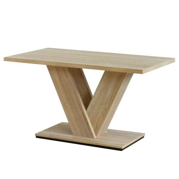 Sconto Jedálenský stôl VITORI dub sonoma