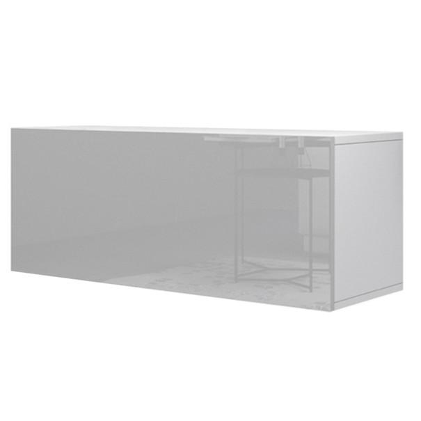 TV komoda  VIVO VI 1 100cm, bílá, vysoký lesk 1