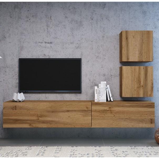 TV komoda  VIVO VI 1 100cm, dub wotan 4