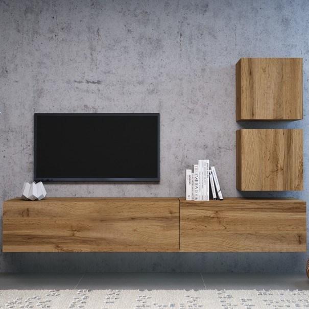 TV komoda VIVO VI 2 120 cm, dub wotan 5