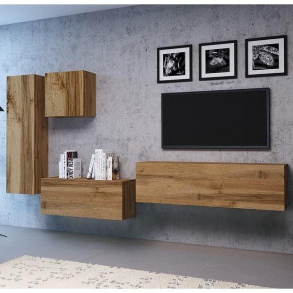 TV komoda VIVO VI 4 180 cm, dub wotan 2