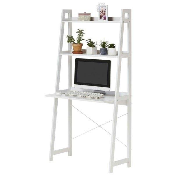 Regál/psací stůl WARNOW bílá 1