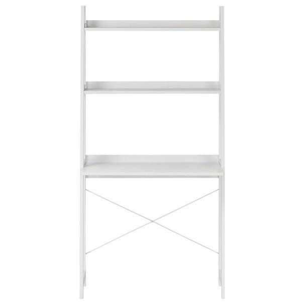 Regál/psací stůl WARNOW bílá 2