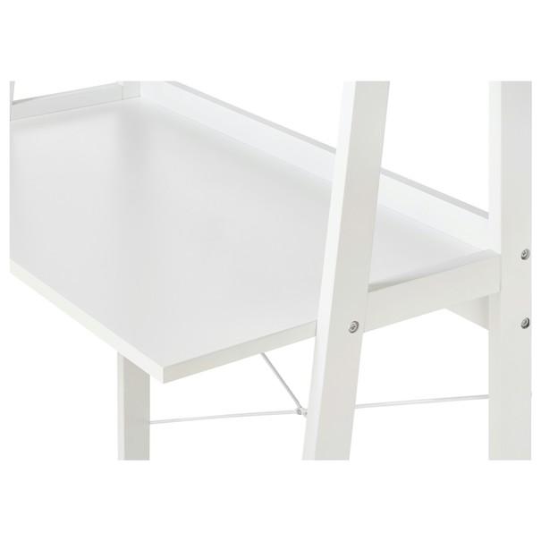 Regál/psací stůl WARNOW bílá 3