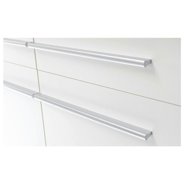 Kuchyňská linka WELCOME X 240 cm, dub sonoma/bílá matná 4