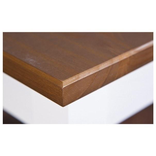 Konferenční stolek WESLEY borovice bílá/hnědá 3