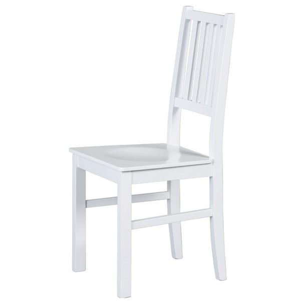 Sconto Jídelní židle WESLEY borovice bílá - nábytek SCONTO nábytek.cz
