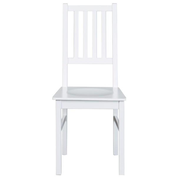 Jedálenská stolička WESLEY borovica biela 3