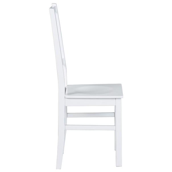 Jedálenská stolička WESLEY borovica biela 4