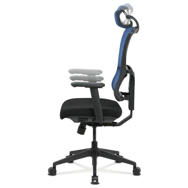 Kancelářská židle WILLIAM modrá 3